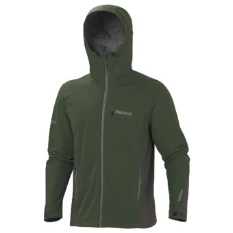 Marmot ROM Windstopper® Jacket - Soft Shell (For Men) in Fatigue/Beluga