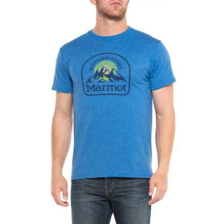 Marmot Royal Heather Altitude T-Shirt - Short Sleeve (For Men) in Royal Heather - Closeouts
