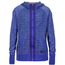 Marmot Sadie Hoodie - UPF 30, Full Zip (For Little and Big Girls) in Gemstone - Closeouts