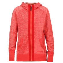 Marmot Sadie Hoodie - UPF 30, Full Zip (For Little and Big Girls) in Red Apple - Closeouts