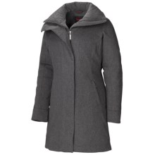 Marmot Salzburg Down Jacket - 650 Fill Power, Merino Wool (For Women) in Black Charcoal - Closeouts
