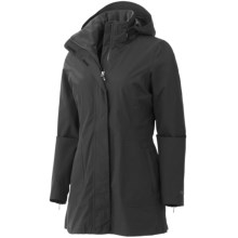 Marmot Sassy Jacket - Waterproof, Lightweight (For Women) in Black - Closeouts