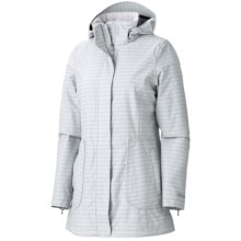 Marmot Sassy Jacket - Waterproof, Lightweight (For Women) in Platinum - Closeouts