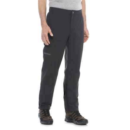 Marmot Scrambler Soft Shell Pants (For Men) in Black - Closeouts