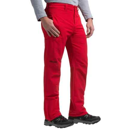 Marmot Scree M3 Soft Shell Pants (For Men) in Team Red - Closeouts