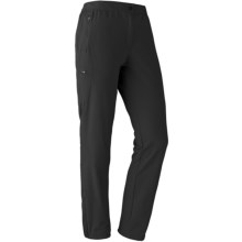 Marmot Scree Soft Shell Pants (For Women) in Black - Closeouts