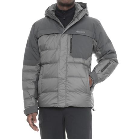 Marmot Shadow Down MemBrain® Ski Jacket - 700 Fill Power, Waterproof (For Men) in Cinder/Slate Grey