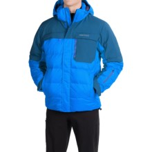 Marmot Shadow Down MemBrain® Ski Jacket - 700 Fill Power, Waterproof (For Men) in Cobalt Blue/Blue Night - Closeouts