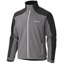 Marmot Sharp Point Jacket - Windstopper® Soft Shell (For Men) in Cinder/Dark Granite - Closeouts
