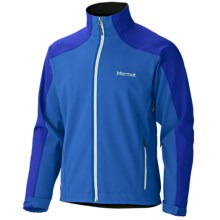 Marmot Sharp Point Jacket - Windstopper® Soft Shell (For Men) in Cobalt Blue/Bright Navy - Closeouts