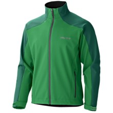 Marmot Sharp Point Jacket - Windstopper® Soft Shell (For Men) in Dark Fern/Wintergreen - Closeouts