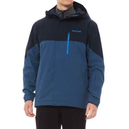 Marmot Sidecut MemBrain® Jacket - Waterproof, Insulated (For Men) in Arctic Navy/Dark Cerulean - Closeouts