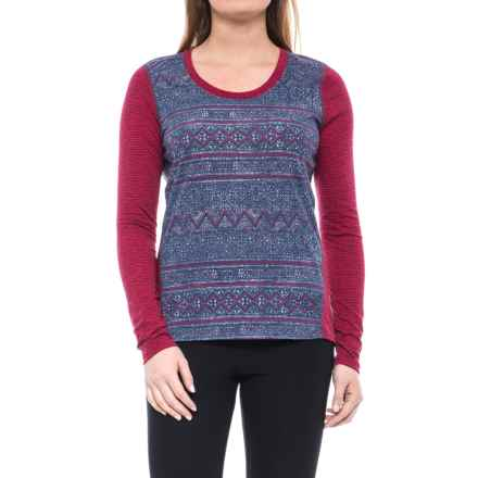 Marmot Simone Shirt - UPF 30, Long Sleeve (For Women) in Bright Ruby Indie - Closeouts