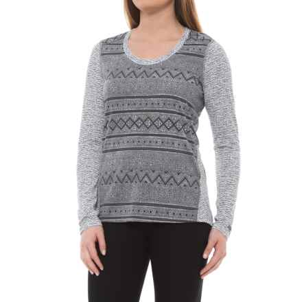 Marmot Simone Shirt - UPF 30, Long Sleeve (For Women) in White Indie - Closeouts