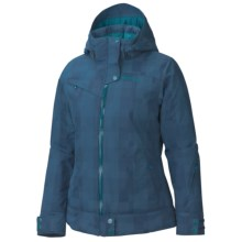 Marmot Sion Ski Jacket - Waterproof, Insulated (For Women) in Blue Ink - Closeouts
