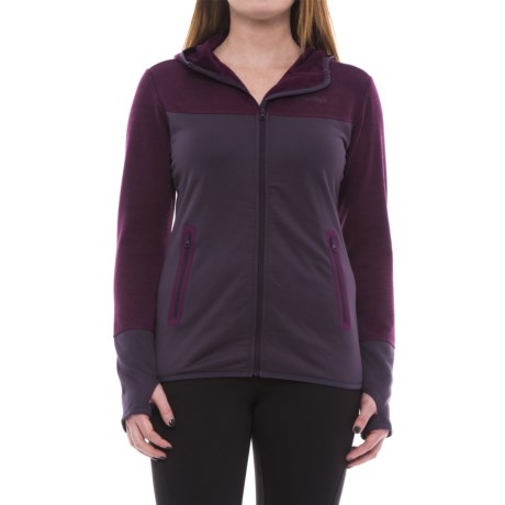 Marmot Sirona Hoodie (For Women) in Nightshade/Deep Plum