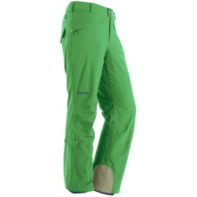 Marmot Skyline Pants - Waterproof, Insulated (For Women) in Bright Grass - Closeouts