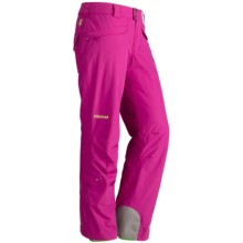 Marmot Skyline Pants - Waterproof, Insulated (For Women) in Lipstick - Closeouts