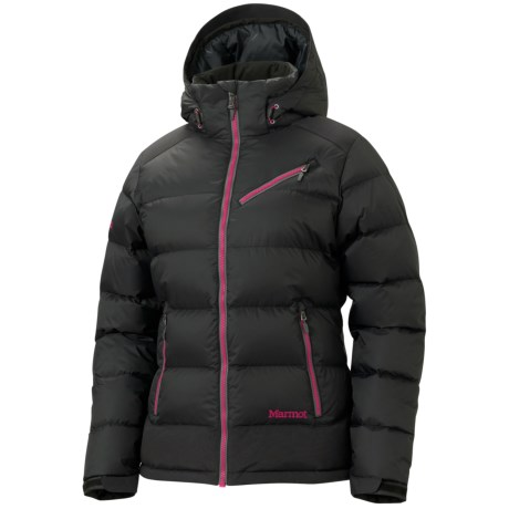 Marmot Sling Shot Down Jacket - 650 Fill Power (For Women) in Black