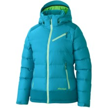 Marmot Sling Shot Down Jacket - 650 Fill Power (For Women) in Blue Sea/Mosaic Blue - Closeouts