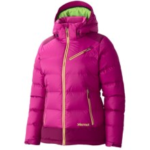 Marmot Sling Shot Down Jacket - 650 Fill Power (For Women) in Lipstick/Dark Rose - Closeouts