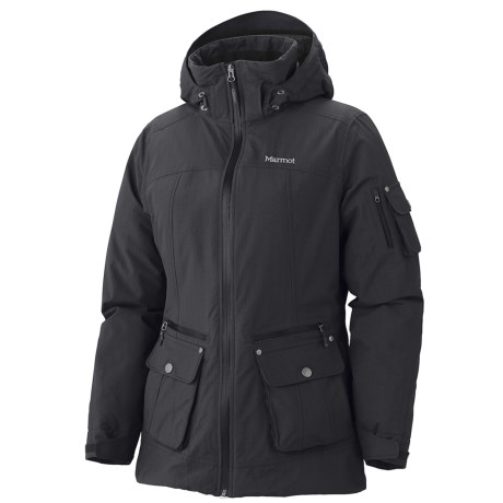 Marmot Slopeside Jacket - Waterproof, Insulated (For Women) in Turtle Dove