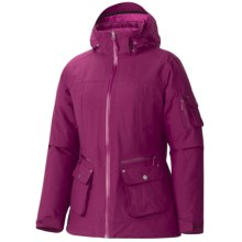 Marmot Slopeside Jacket - Waterproof, Insulated (For Women) in Dark Rose - Closeouts