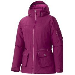 Marmot Slopeside Jacket - Waterproof, Insulated (For Women) in Black