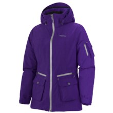 Marmot Slopeside Jacket - Waterproof, Insulated (For Women) in Dark Violet - Closeouts