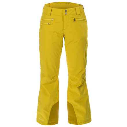 Marmot Slopestar Ski Pants - Waterproof, Insulated (For Women) in Yellow Vapor - Closeouts
