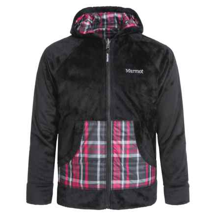 Marmot Snow Fall Jacket - Reversible (For Girls) in Black - Closeouts