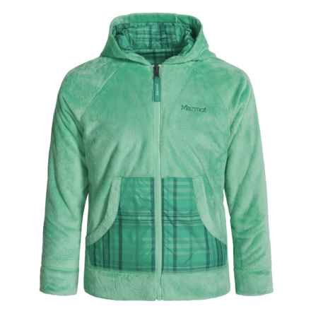 Marmot Snow Fall Jacket - Reversible (For Girls) in Green Frost - Closeouts