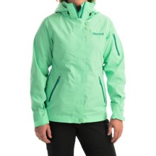 Marmot Snow Queen Ski Jacket - Waterproof (For Women) in Green Frost - Closeouts