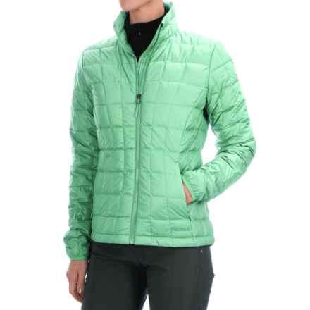 Marmot Sol Down Jacket - 600 Fill Power (For Women) in Green Frost - Closeouts
