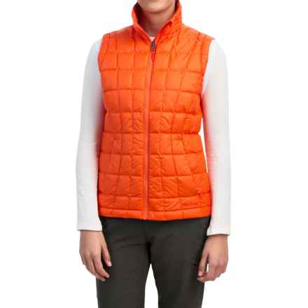 Marmot Sol Down Vest - 600 Fill Power (For Women) in Orange Coral - Closeouts