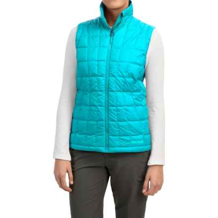 Marmot Sol Down Vest - 600 Fill Power (For Women) in Sea Breeze - Closeouts