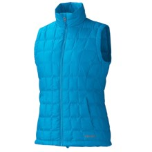 Marmot Sol Down Vest - 700 Fill Power (For Women) in Atomic Blue - Closeouts