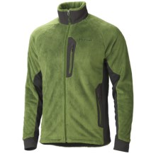 Marmot Solar Flair Fleece Jacket - Polartec® Power Stretch® (For Men) in Green Pepper/Dark Granite - Closeouts