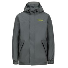 Marmot Southridge Jacket - Waterproof (For Boys) in Dark Zinc - Closeouts