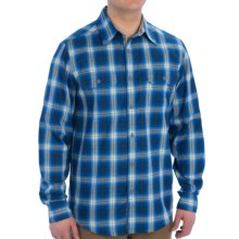 Marmot Southside Flannel Shirt - UPF 50, Long Sleeve (For Men) in Blue Sapphire - Closeouts