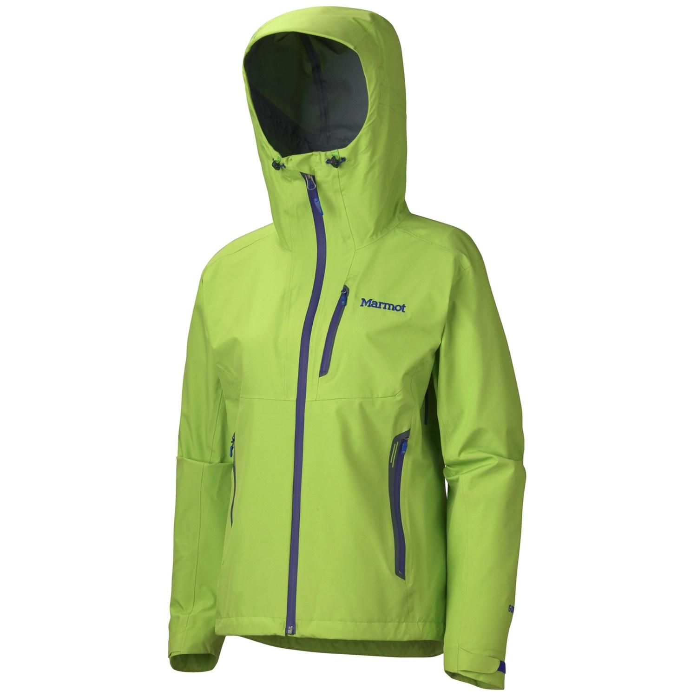 Marmot Speed Light Gore-Tex® Jacket - Waterproof (For Women) in Green