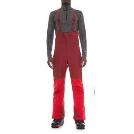 Marmot Spire Gore-Tex® Bibs - Waterproof (For Men) in Brick/Team Red - Closeouts
