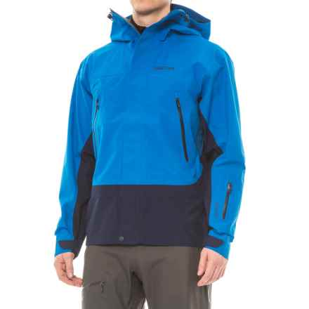Marmot Spire Gore-Tex® Jacket - Waterproof (For Men) in Clear Blue/Arctic Navy - Closeouts
