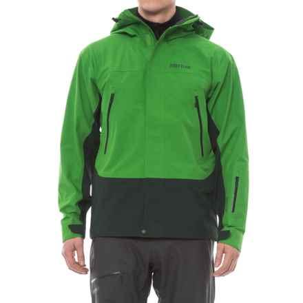 Marmot Spire Gore-Tex® Jacket - Waterproof (For Men) in Lucky Green/Dark Spruce - Closeouts