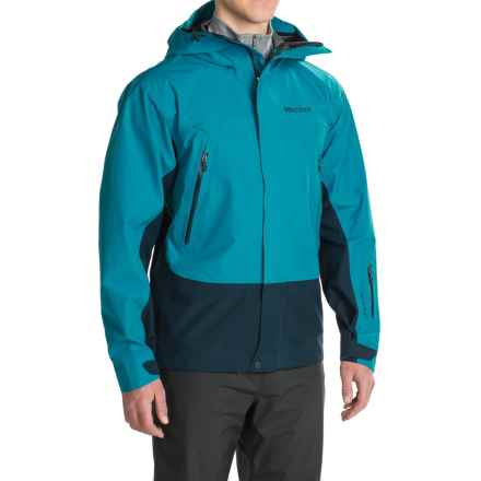 Marmot Spire Gore-Tex® Jacket - Waterproof (For Men) in Turkish Tile/Denim - Closeouts