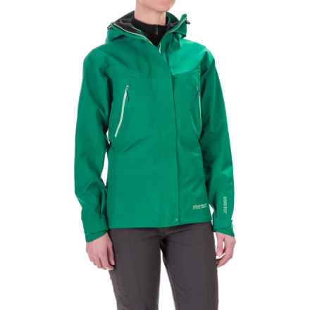 Marmot Spire Gore-Tex® Jacket - Waterproof (For Women) in Green Garnet - Closeouts