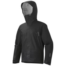 Marmot Spire Gore-Tex® Performance Shell Jacket - Waterproof (For Men) in Black - Closeouts