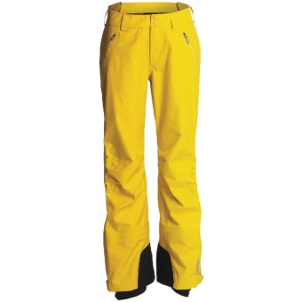 Marmot Spire Gore-Tex® Performance Shell Pants - Waterproof (For Women) in Dark Yellow
