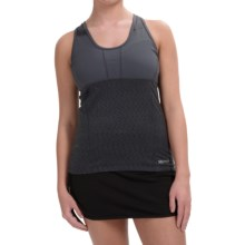 Marmot Stability Tank Top - UPF 40, Built-In Bra (For Women) in Dark Steel - Closeouts