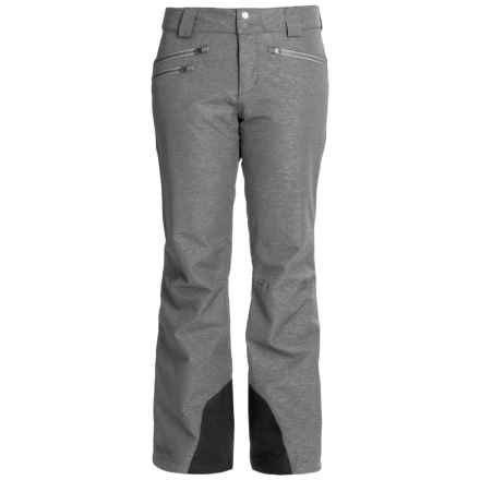 Marmot Stardust MemBrain® Ski Pants - Waterproof, Insulated (For Women) in Black Heather - Closeouts